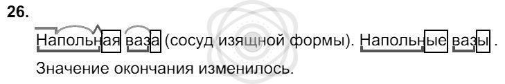 Русский язык 3 класс Соловейчик М. С. Упражнения: 26