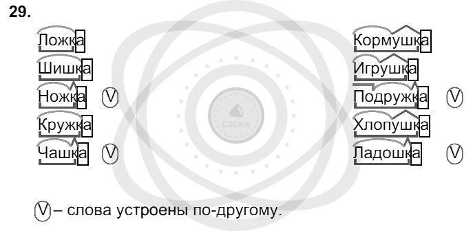 Русский язык 3 класс Соловейчик М. С. Упражнения: 29