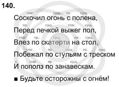 Русский язык 3 класс Соловейчик М. С. Упражнения: 140