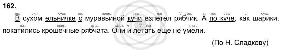 Русский язык 3 класс Соловейчик М. С. Упражнения: 162