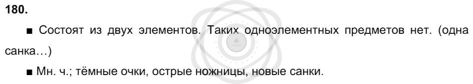 Русский язык 3 класс Соловейчик М. С. Упражнения: 180