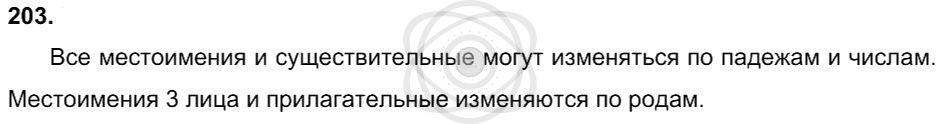 Русский язык 3 класс Соловейчик М. С. Упражнения: 203
