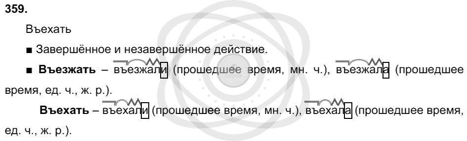 Русский язык 3 класс Соловейчик М. С. Упражнения: 359