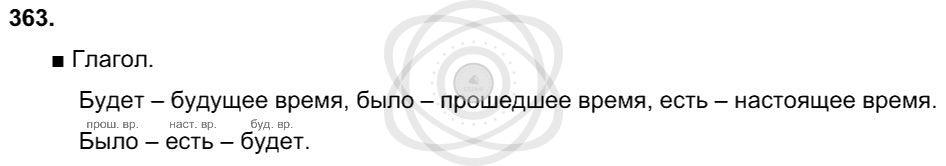 Русский язык 3 класс Соловейчик М. С. Упражнения: 363