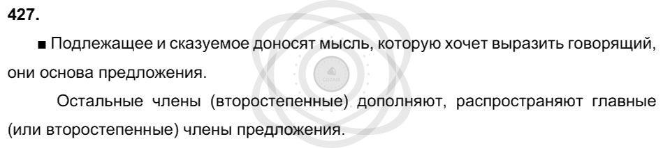 Русский язык 3 класс Соловейчик М. С. Упражнения: 427