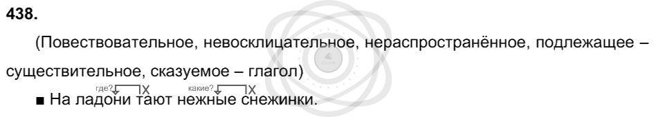 Русский язык 3 класс Соловейчик М. С. Упражнения: 438