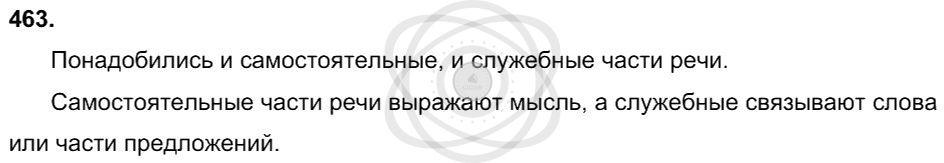 Русский язык 3 класс Соловейчик М. С. Упражнения: 463
