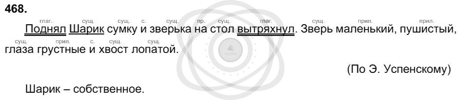Русский язык 3 класс Соловейчик М. С. Упражнения: 468