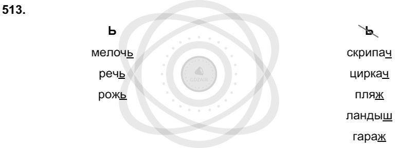 Русский язык 3 класс Соловейчик М. С. Упражнения: 513