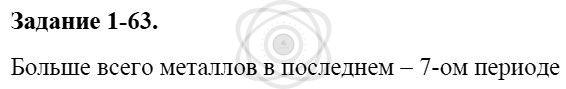 Химия 8 класс Кузнецова Н. Е. Глава 1. Первоначальные химические понятия / Задания: 63