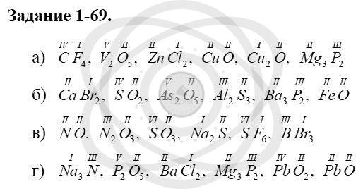 Химия 8 класс Кузнецова Н. Е. Глава 1. Первоначальные химические понятия / Задания: 69