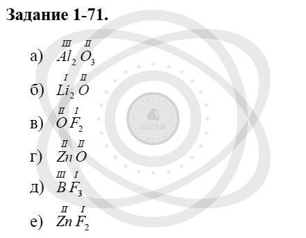 Химия 8 класс Кузнецова Н. Е. Глава 1. Первоначальные химические понятия / Задания: 71