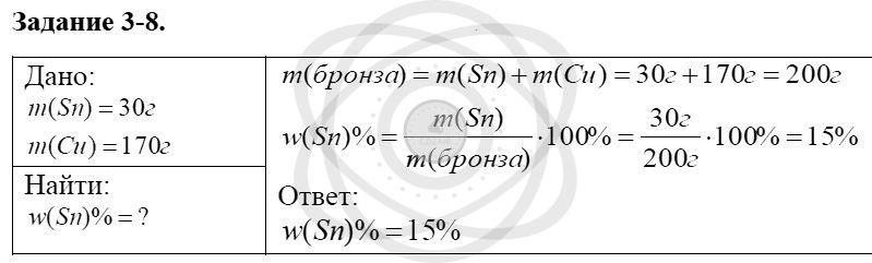 Химия 8 класс Кузнецова Н. Е. Глава 3. Смеси. Растворы / Задания: 8