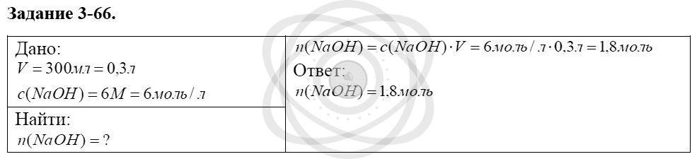 Химия 8 класс Кузнецова Н. Е. Глава 3. Смеси. Растворы / Задания: 66