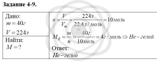 Химия 8 класс Кузнецова Н. Е. Глава 4. Газы. Кислород. Горение / Задания: 9