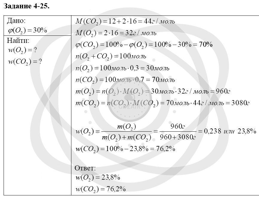 Химия 8 класс Кузнецова Н. Е. Глава 4. Газы. Кислород. Горение / Задания: 25