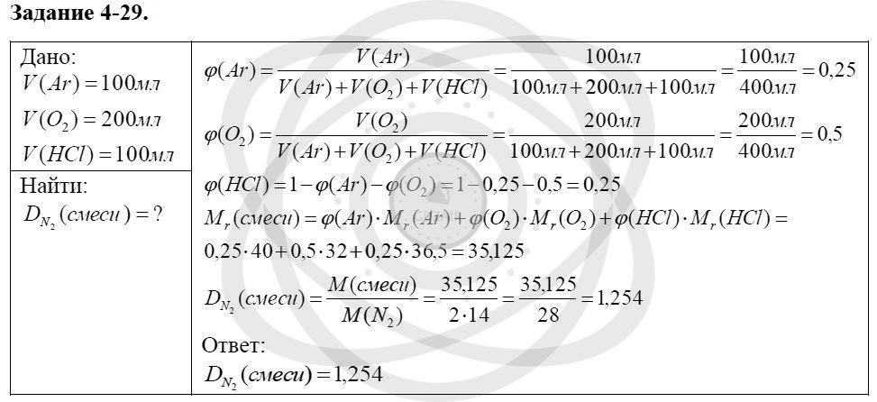 Химия 8 класс Кузнецова Н. Е. Глава 4. Газы. Кислород. Горение / Задания: 29