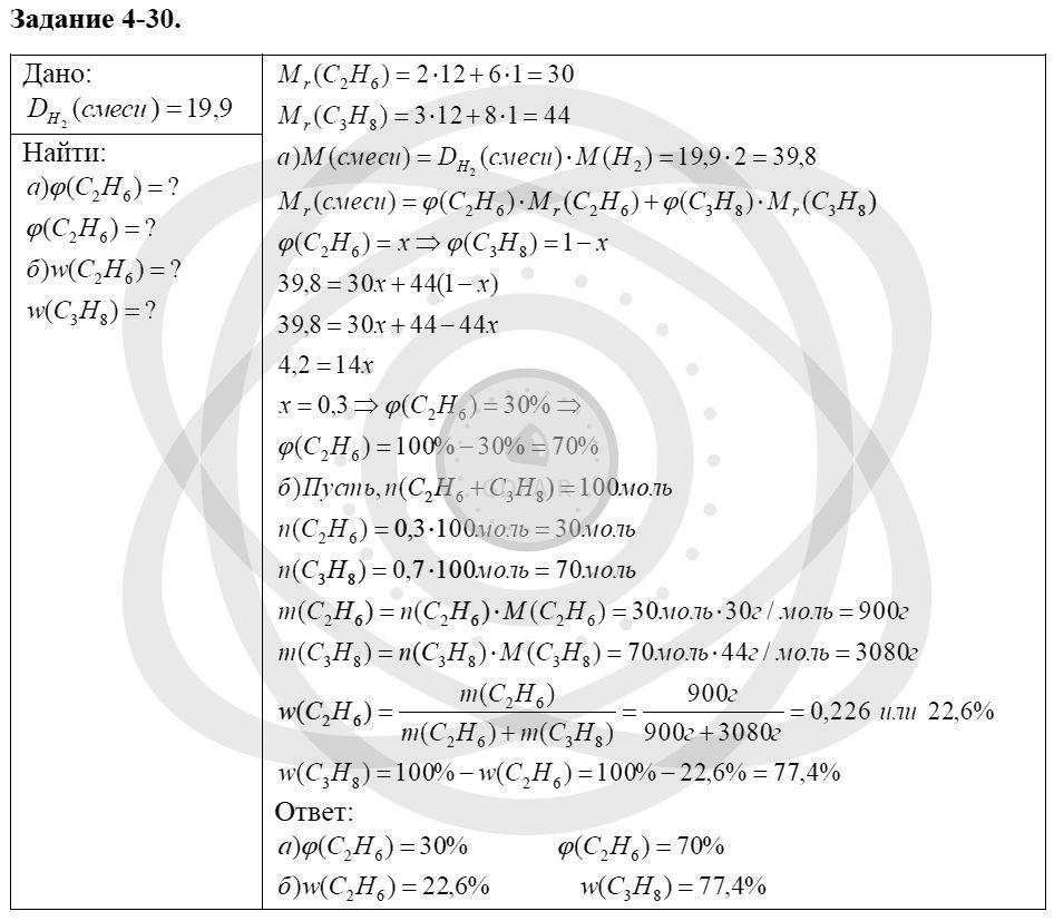 Химия 8 класс Кузнецова Н. Е. Глава 4. Газы. Кислород. Горение / Задания: 30