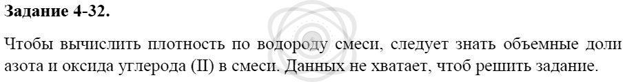 Химия 8 класс Кузнецова Н. Е. Глава 4. Газы. Кислород. Горение / Задания: 32