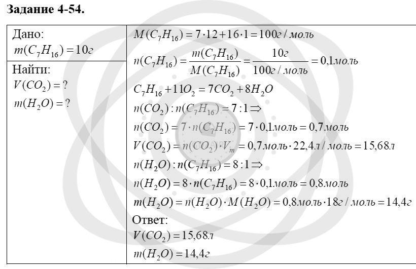 Химия 8 класс Кузнецова Н. Е. Глава 4. Газы. Кислород. Горение / Задания: 54