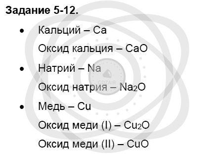 Химия 8 класс Кузнецова Н. Е. Глава 5. Основные классы неорганических соединений / Задания: 12