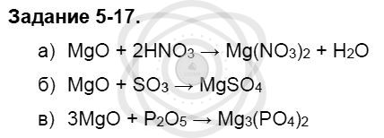 Химия 8 класс Кузнецова Н. Е. Глава 5. Основные классы неорганических соединений / Задания: 17