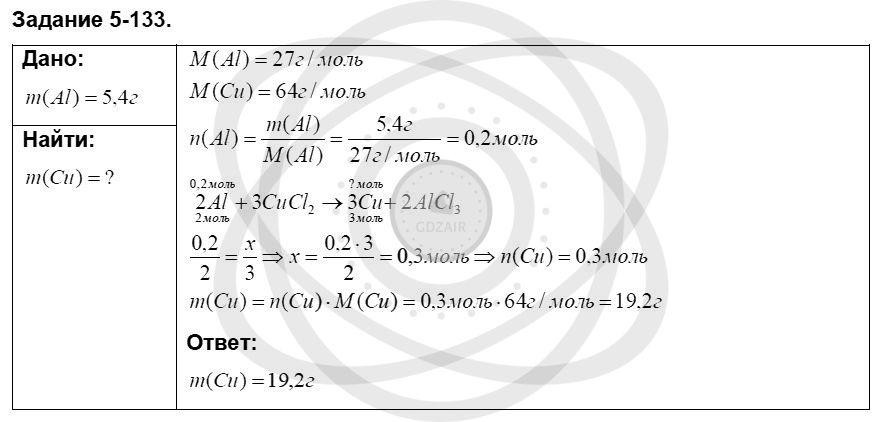 Химия 8 класс Кузнецова Н. Е. Глава 5. Основные классы неорганических соединений / Задания: 133