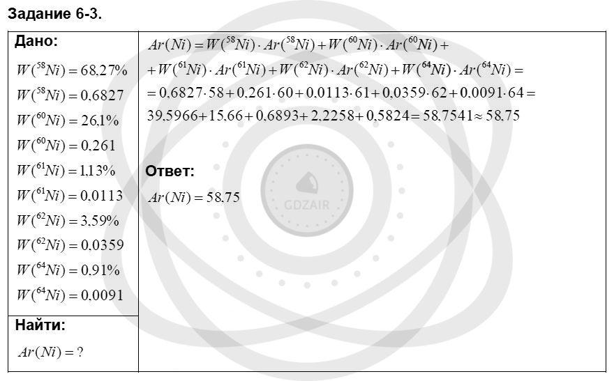 Химия 8 класс Кузнецова Н. Е. Глава 6. Строение атома. Периодический закон и периодическая система Д. И. Менделеева в свете электронной теории / Задания: 3