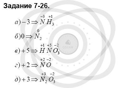 Химия 8 класс Кузнецова Н. Е. Глава 7. Строение вещества. Химические реакции в свете электронной теории / Задания: 26