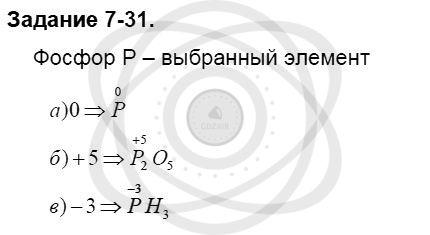 Химия 8 класс Кузнецова Н. Е. Глава 7. Строение вещества. Химические реакции в свете электронной теории / Задания: 31