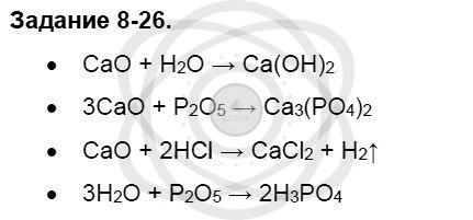 Химия 8 класс Кузнецова Н. Е. Глава 8. Водород. Галогены / Задания: 26