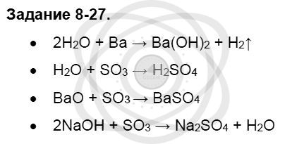 Химия 8 класс Кузнецова Н. Е. Глава 8. Водород. Галогены / Задания: 27