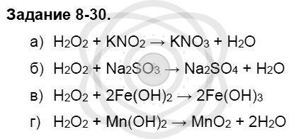 Химия 8 класс Кузнецова Н. Е. Глава 8. Водород. Галогены / Задания: 30
