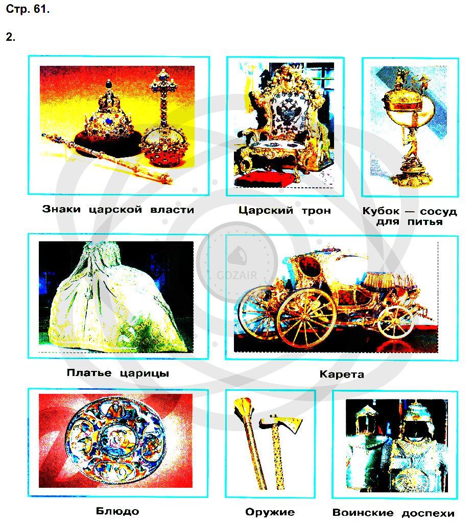 Окружающий мир 3 класс Плешаков А. А. Страницы: 61
