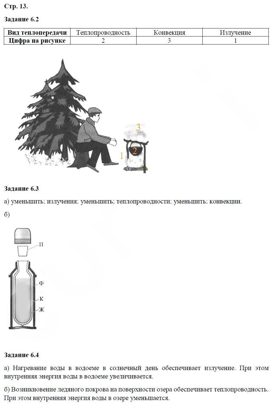 Физика 8 класс Ханнанова Т. А. Страницы: 13