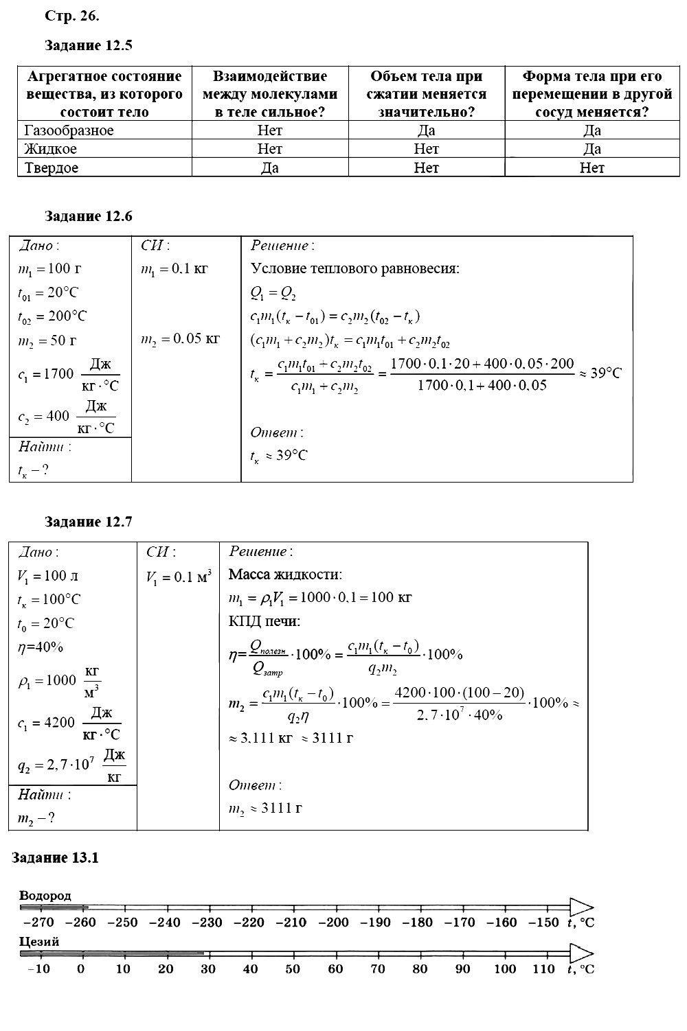 Физика 8 класс Ханнанова Т. А. Страницы: 26