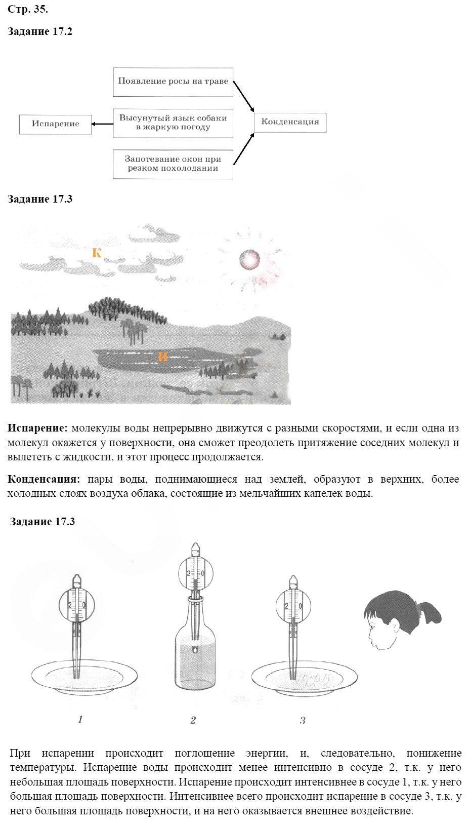 Физика 8 класс Ханнанова Т. А. Страницы: 35