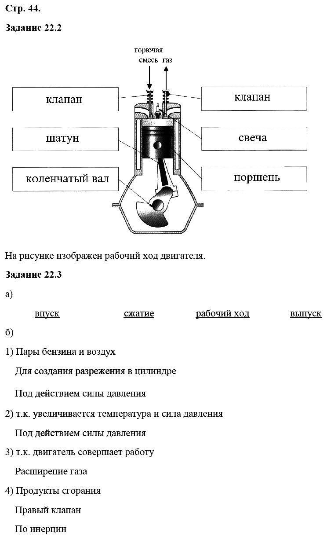 Физика 8 класс Ханнанова Т. А. Страницы: 44