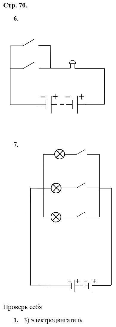 Физика 8 класс Касьянов В. А. Страницы: 70